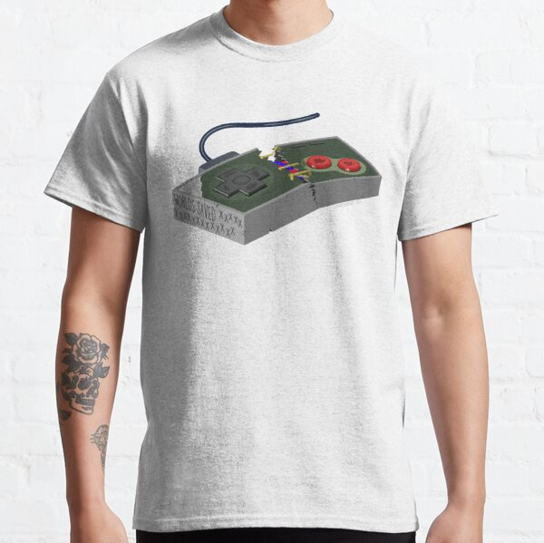 Another World Saved (Black) Classic T-Shirt