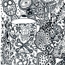 Artwork # 8 trippy Mess by Brian Scolnick