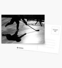 Hockey Schatten Postkarten