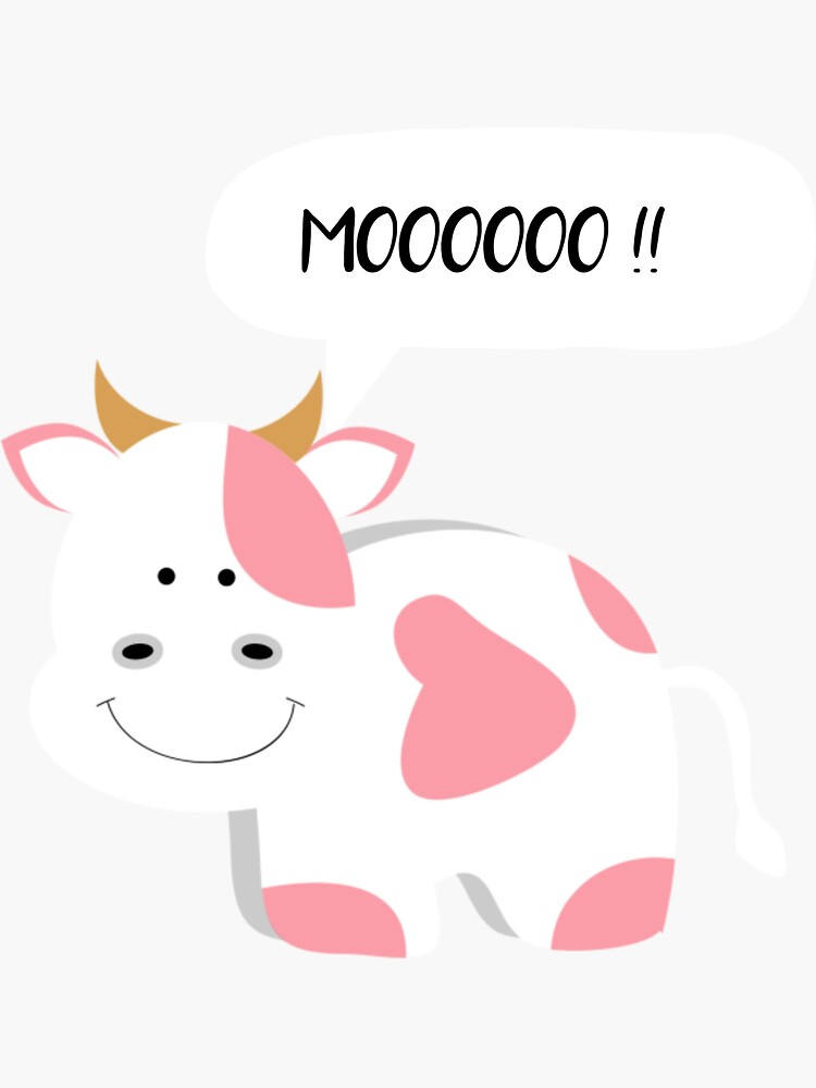 Cute Happy Cow by ds-4