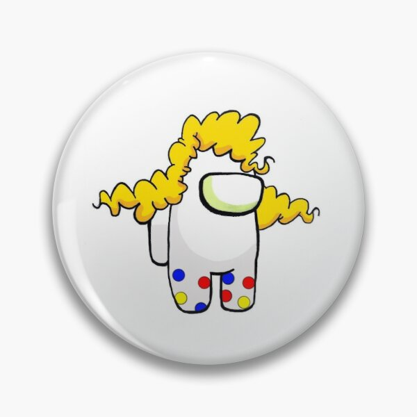 Jack the Clown is Among Us Pin