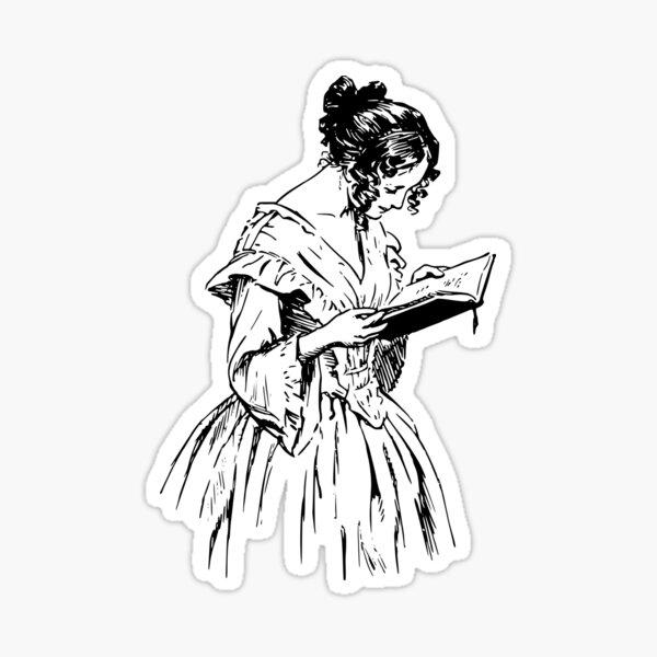 The Reader Sticker