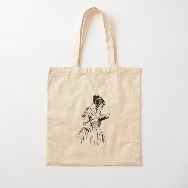 The Reader Cotton Tote Bag