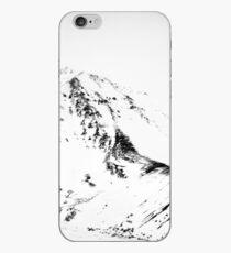 Denali - Chiseled Mountain BW iPhone Case