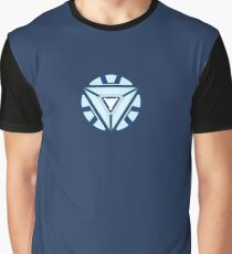Arc Reactor MKVII (Mark 7) Graphic T-Shirt