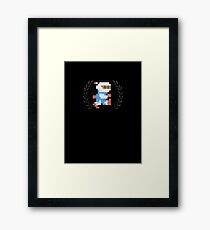 Bomberman - Sprite Badge Framed Print