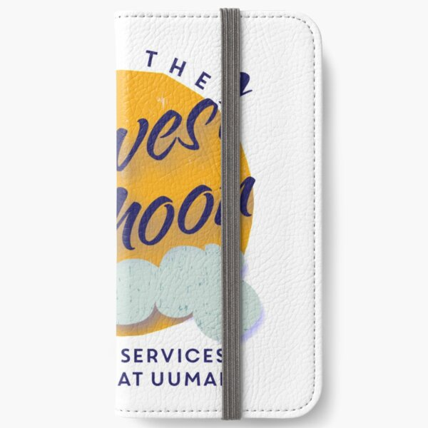 UUMAN Congregation Under the Harvest Moon Auction Logo iPhone Wallet