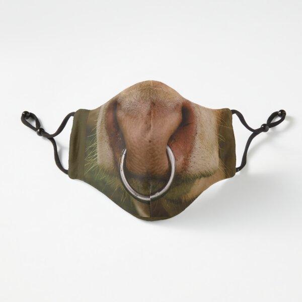 Red Nose Bull - Masque drôle Masque ajusté