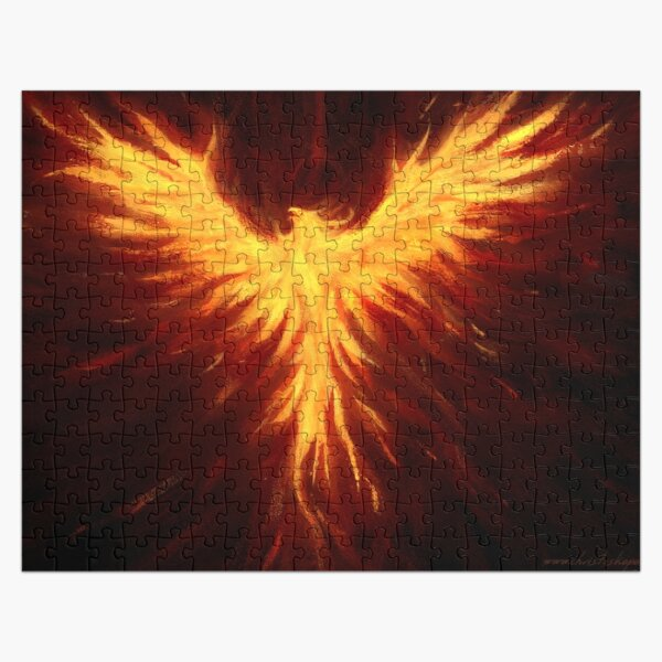 Ancient Flame Jigsaw Puzzle