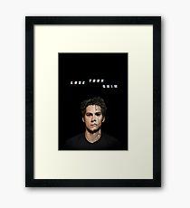 lose your mind -stiles- Framed Print