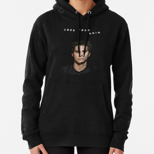 lose your mind -stiles- Pullover Hoodie