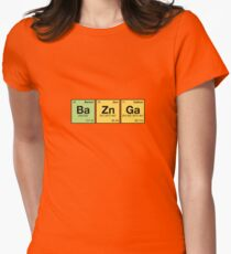 Ba Zn Ga! - periodic elements scramble Women's Fitted T-Shirt