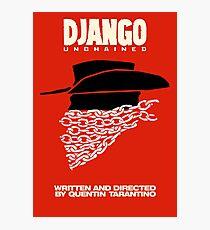 Lámina fotográfica Django desencadenado