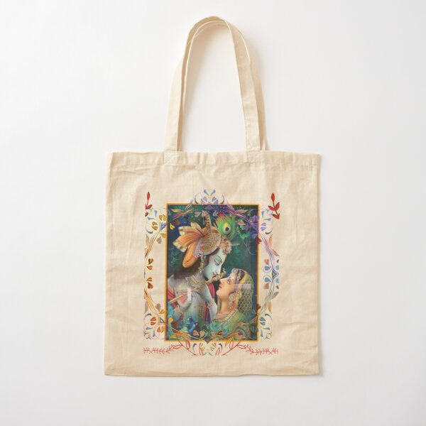 Devotional slogan Cotton Tote Bag
