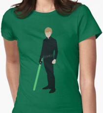 Luke Skywalker 1 Womens Fitted T-Shirt