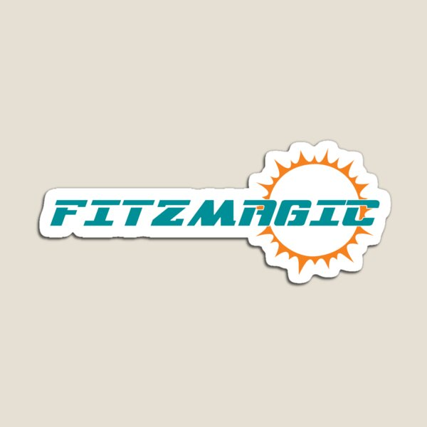 FITZMAGIC - Ryan Fitzpatrick - Miami Dolphins - American Football - Fan Art Magnet