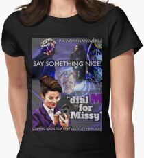 Dial 'M' for Missy Women's Fitted T-Shirt