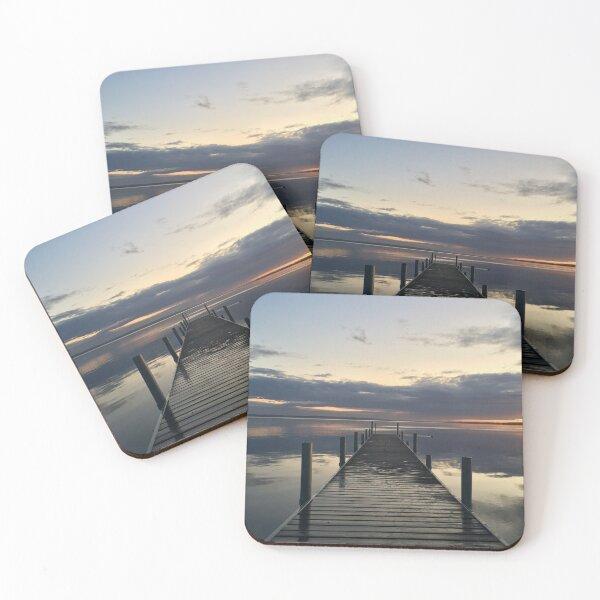 Bridge to sunset 1 Coasters (Set of 4)