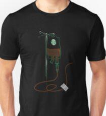 Camiseta ajustada café