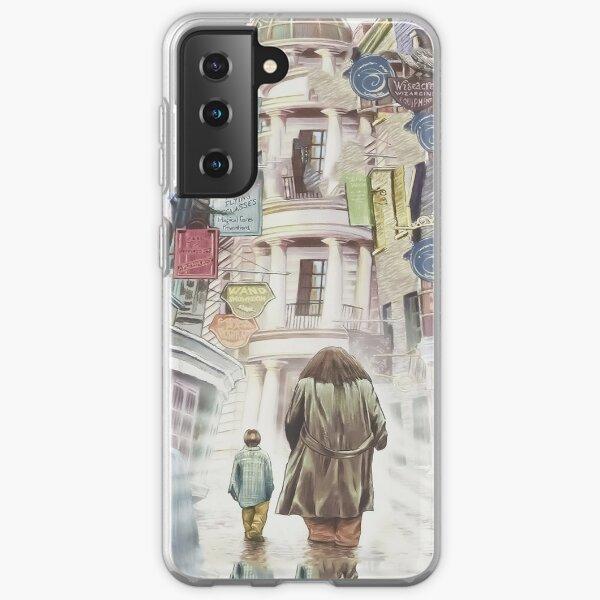 Chemin de Traverse Harry & Hagrid Coque souple Samsung Galaxy