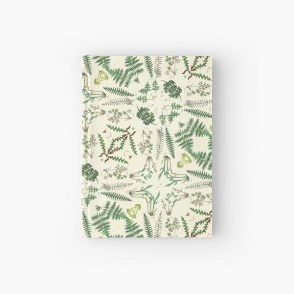 Victorian Botanic Fern Pattern Hardcover Journal