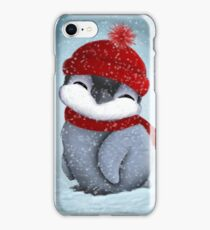 Baby penguin iPhone Case/Skin