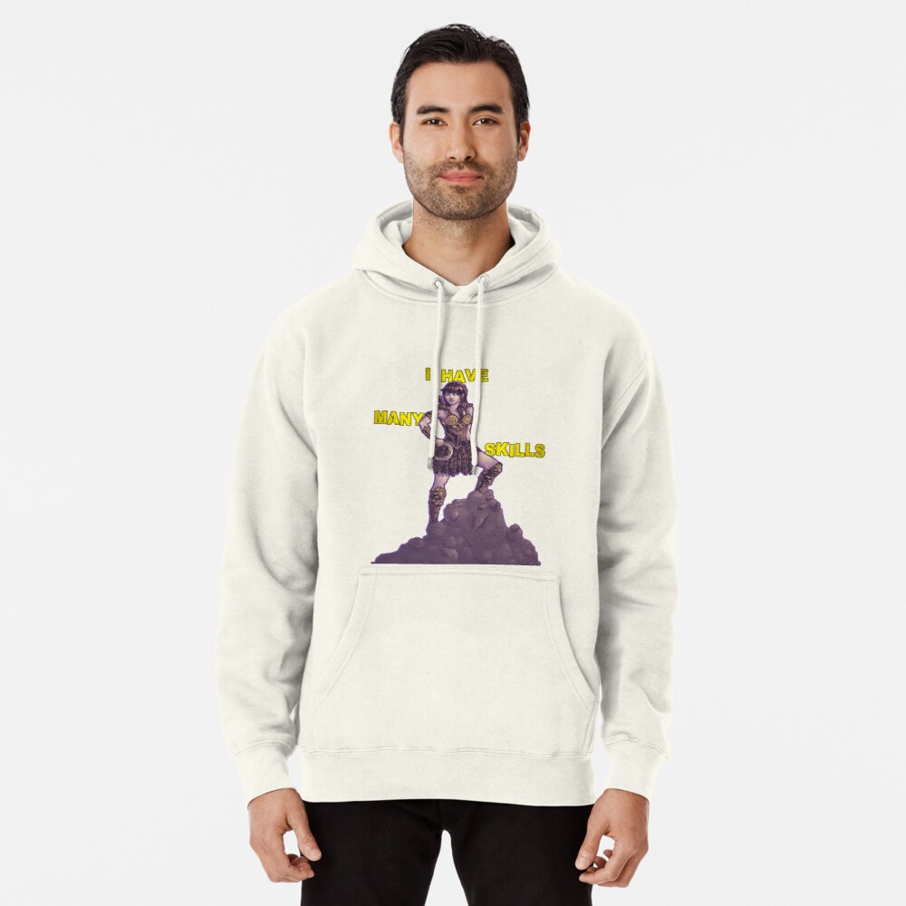 She Has Many Skills Pullover Hoodie