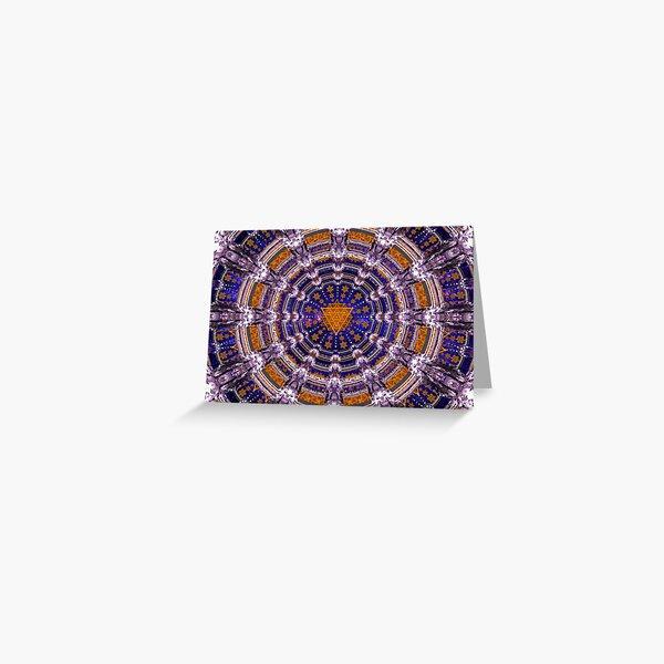 TetraGrid Healing Room Greeting Card