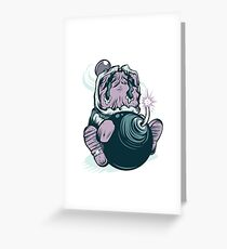 Bamber Man Last Stand Greeting Card