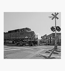Big Locomotive Photographic Print