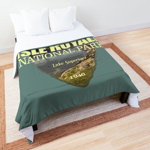 Isle Royale National Park (arrowhead) Comforter