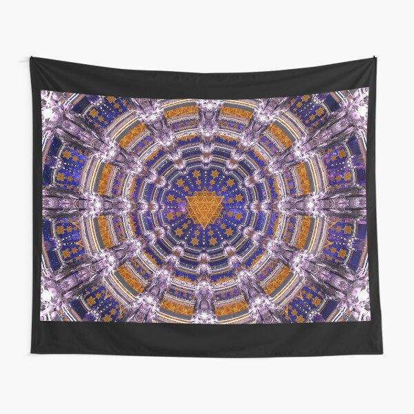 TetraGrid Healing Room Tapestry