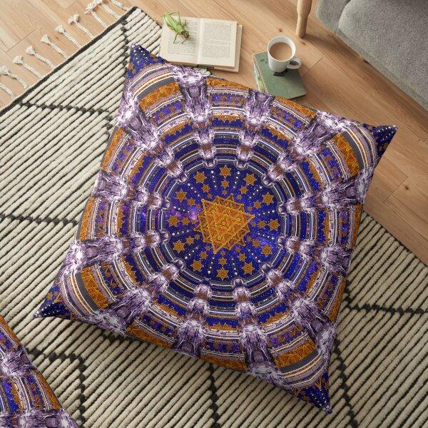 TetraGrid Healing Room Floor Pillow
