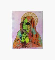 Praying Alien Art Board