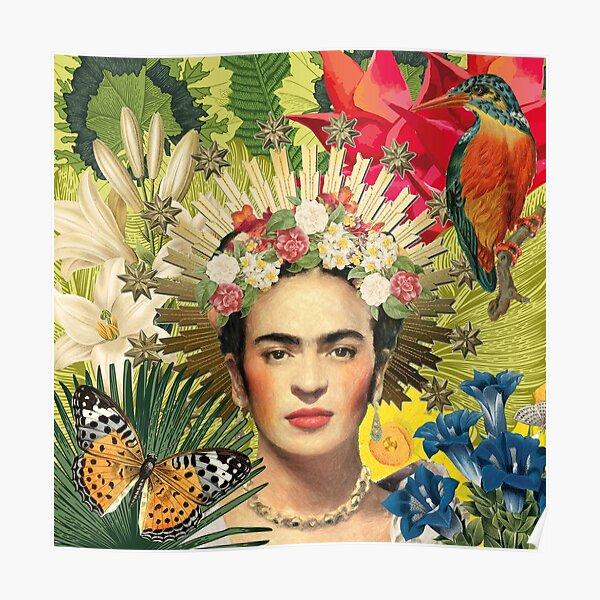 Frida Kahlo Corona Poster
