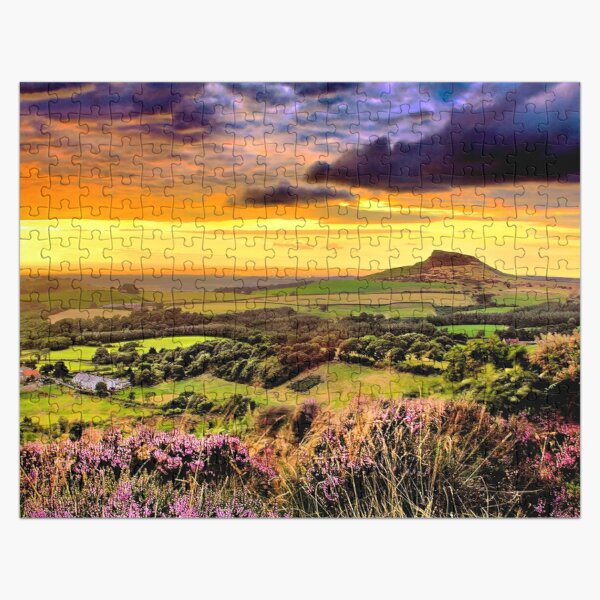 Odin's Fire - Roseberry Topping, North Yorkshire Jigsaw Puzzle