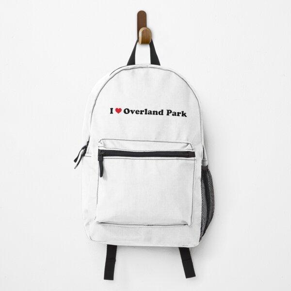 I Love Overland Park Backpack