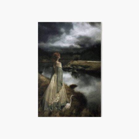 Whispers on the Wind by Edward Robert Hughs Art Board Print