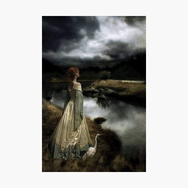 Whispers on the Wind by Edward Robert Hughs Photographic Print
