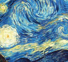 The Starry Night Sticker