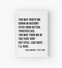 Still I Rise Hardcover Journal