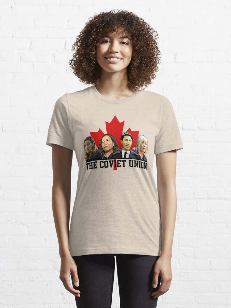 Alternate view of The Coviet Union of Canada Essential T-Shirt