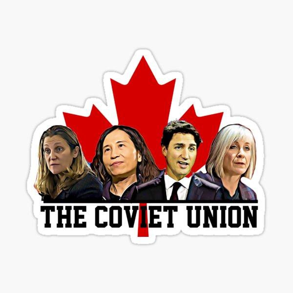 The Coviet Union of Canada Sticker