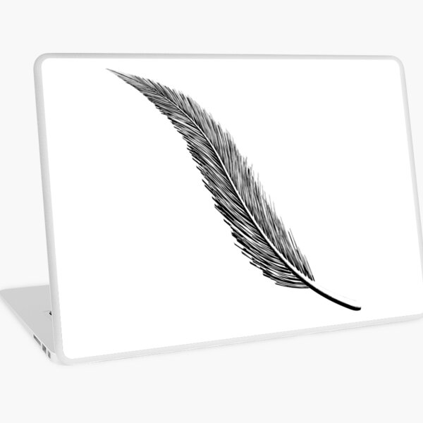 Feather Inked 1 Laptop Skin