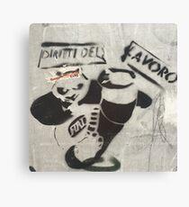 Panda Graffiti Canvas Print