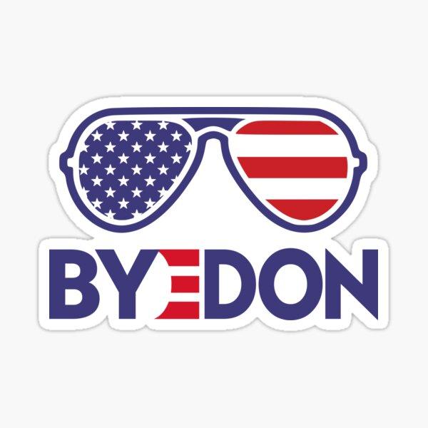 Byedon Funny Joe Biden Wins 2020 Election Sticker