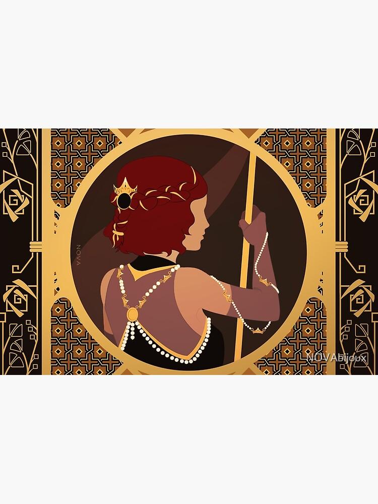 «Tiare de Grèce - Illustration Art nouveau» par NOVAbijoux