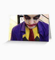 Dark Joker :) Greeting Card