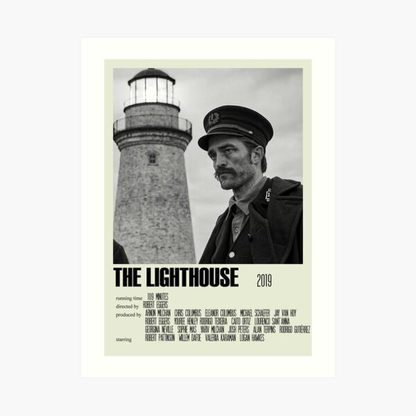 The Lighthouse Alternative Poster Art Movie Large (2) Art Print