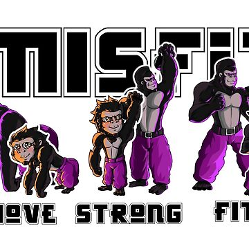 Misfit Gym Promotional Materials by gckbc